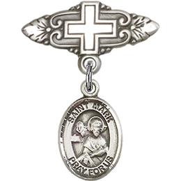 St Mark the Evangelist<br>Baby Badge - 9070/0731