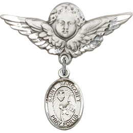 St Margaret Mary Alacoque<br>Baby Badge - 9072/0733