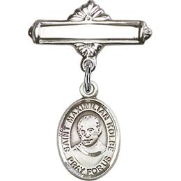 St Maximilian Kolbe<br>Baby Badge - 9073/0730