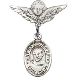 St Maximilian Kolbe<br>Baby Badge - 9073/0735