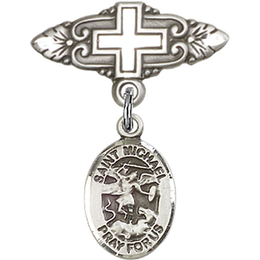 St Michael the Archangel<br>Baby Badge - 9076/0731