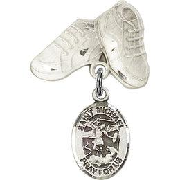 St Michael the Archangel<br>Baby Badge - 9076/5923