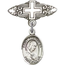 St Philomena<br>Baby Badge - 9077/0731