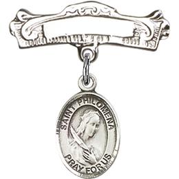 St Philomena<br>Baby Badge - 9077/0732