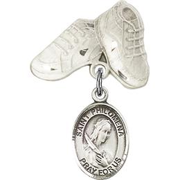 St Philomena<br>Baby Badge - 9077/5923