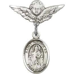 St Nicholas<br>Baby Badge - 9080/0735