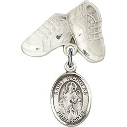 St Nicholas<br>Baby Badge - 9080/5923