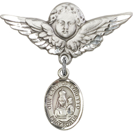 Our Lady of Loretto<br>Baby Badge - 9082/0733