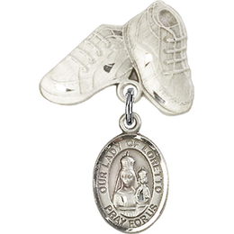 Our Lady of Loretto<br>Baby Badge - 9082/5923