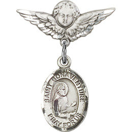 St Bonaventure<br>Baby Badge - 9085/0735