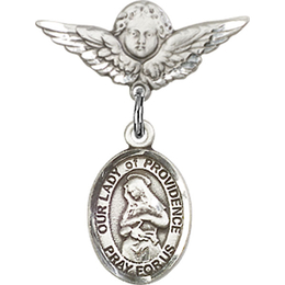 Our Lady of Providence<br>Baby Badge - 9087/0735