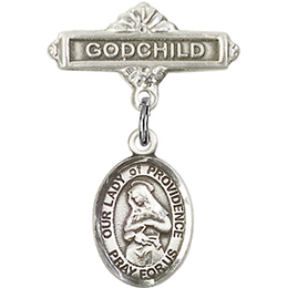 Our Lady of Providence<br>Baby Badge - 9087/0736