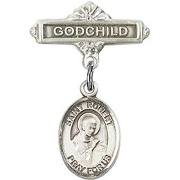 St Robert Bellarmine<br>Baby Badge - 9096/0736