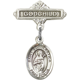St Scholastica<br>Baby Badge - 9099/0736