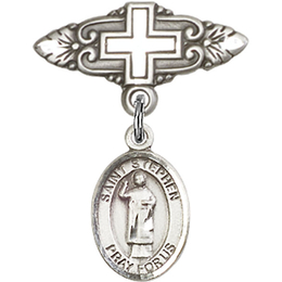 St Stephen the Martyr<br>Baby Badge - 9104/0731