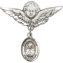 St Timothy<br>Baby Badge - 9105/0733