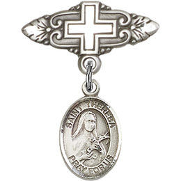 St Theresa<br>Baby Badge - 9106/0731