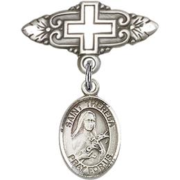 St Theresa<br>Baby Badge - 9106/0731