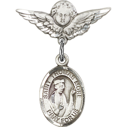 St Thomas More<br>Baby Badge - 9109/0735