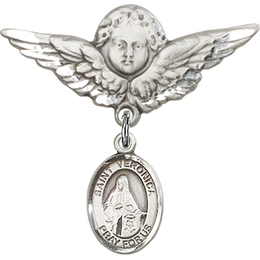 St Veronica<br>Baby Badge - 9110/0733