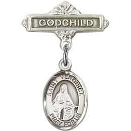 St Veronica<br>Baby Badge - 9110/0736