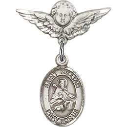 St William of Rochester<br>Baby Badge - 9114/0735