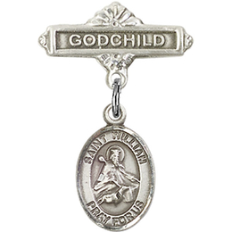 St William of Rochester<br>Baby Badge - 9114/0736