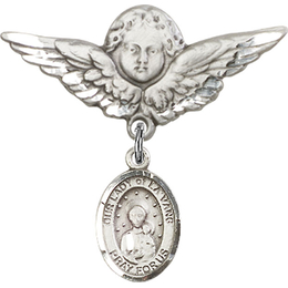 Our Lady of la Vang<br>Baby Badge - 9115/0733
