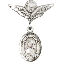 Our Lady of la Vang<br>Baby Badge - 9115/0735
