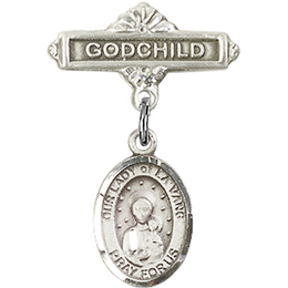 Our Lady of la Vang<br>Baby Badge - 9115/0736