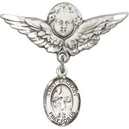 St Zachary<br>Baby Badge - 9116/0733