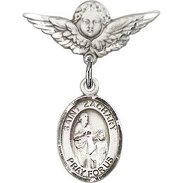 St Zachary<br>Baby Badge - 9116/0735