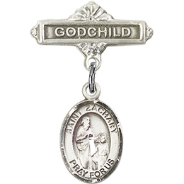 St Zachary<br>Baby Badge - 9116/0736