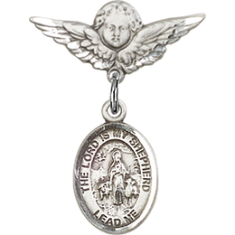 Lord Is My Shepherd<br>Baby Badge - 9119/0735