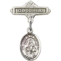 Lord Is My Shepherd<br>Baby Badge - 9119/0736