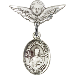 St Leo the Great<br>Baby Badge - 9120/0735