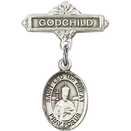 St Leo the Great<br>Baby Badge - 9120/0736