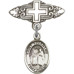 St Valentine of Rome<br>Baby Badge - 9121/0731