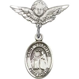 St Valentine of Rome<br>Baby Badge - 9121/0735