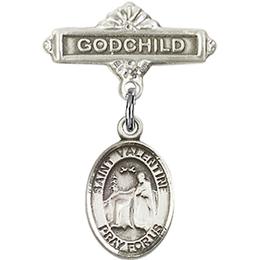 St Valentine of Rome<br>Baby Badge - 9121/0736