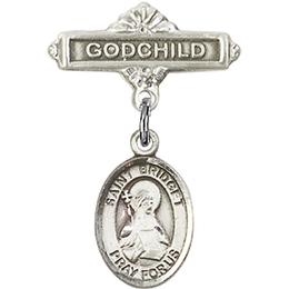 St Bridget of Sweden<br>Baby Badge - 9122/0736