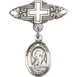 St Brigid of Ireland<br>Baby Badge - 9123/0731