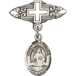 St Walburga<br>Baby Badge - 9126/0731
