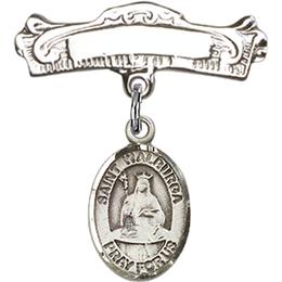St Walburga<br>Baby Badge - 9126/0732