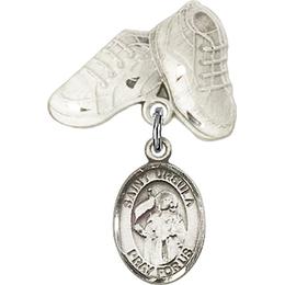 St Ursula<br>Baby Badge - 9127/5923