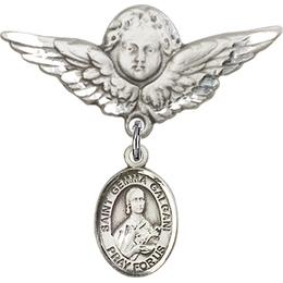 St Gemma Galgani<br>Baby Badge - 9130/0733