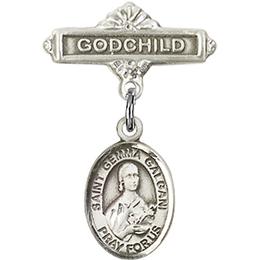 St Gemma Galgani<br>Baby Badge - 9130/0736