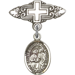 Sts Cosmas & Damian<br>Baby Badge - 9132/0731