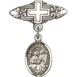 Sts Cosmas & Damian<br>Baby Badge - 9132/0731