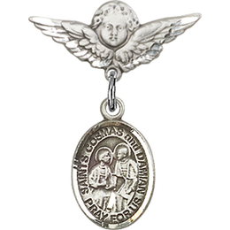 Sts Cosmas & Damian<br>Baby Badge - 9132/0735